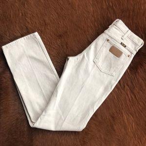 💯 Cotton tan Wrangler Jeans